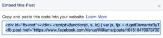 facebook-embed-code