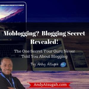 mobile blogging - moblogging