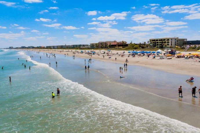 morar na flórida - cidades da Flórida - cocoa beach florida
