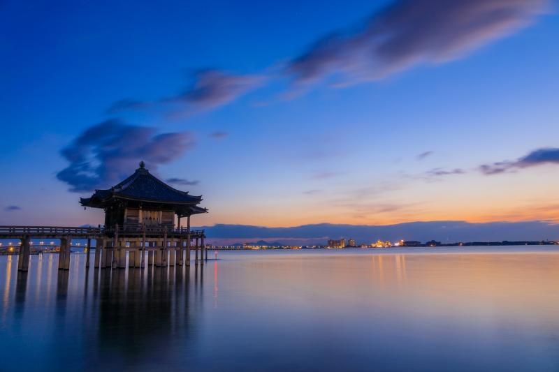 浮御堂の寫真 | 滋賀観光