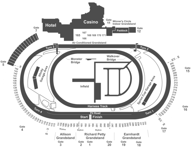 dover seating chart