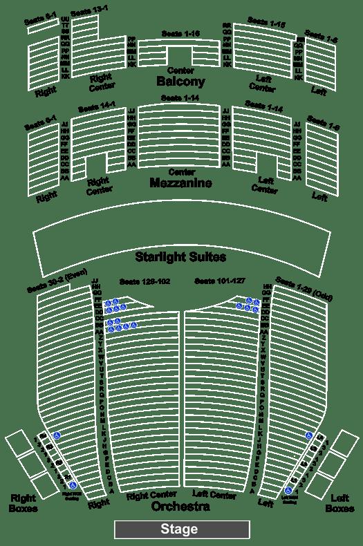 Majestic Theatre Seating Chart San Antonio Brokeasshome Com