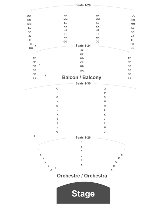 Capitol Theater Moncton Seating Chart Brokeasshome Com