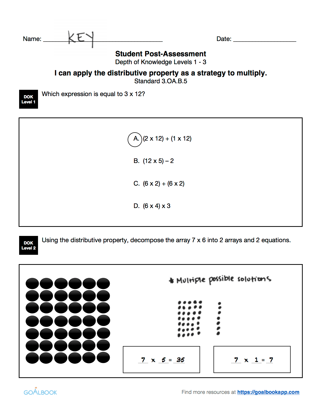 3 Oa 5 Properties Of Multiplication And Division
