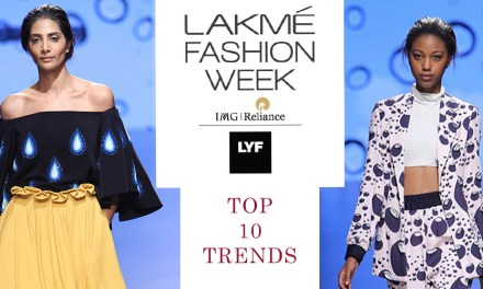 Top 10 Trends from Lakmé Fashion Week S/R 2016