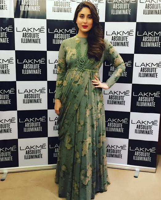 Pregnancy Style : Kareena Kapoor Khan wearing Sabyasachi