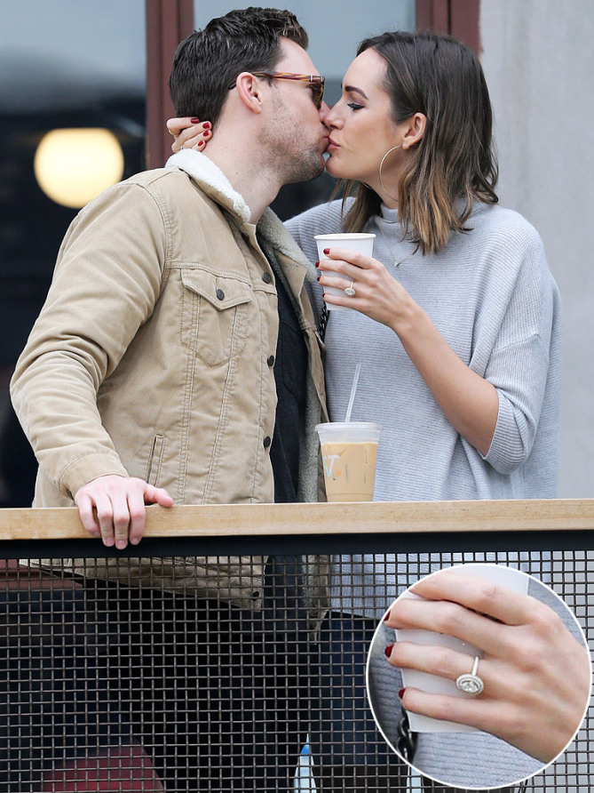 Best Celebrity Engagement Rings - Louise Roe