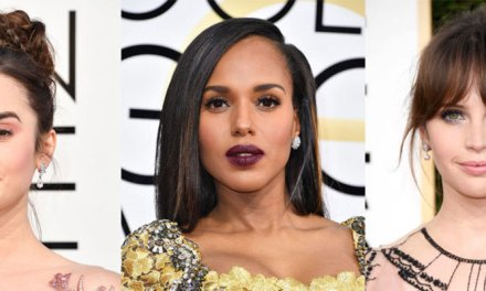 Golden Globes Fashion And The 8 Prettiest Beauty Trends