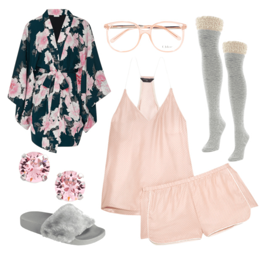 Valentine's Day Outfit Ideas - Staying in