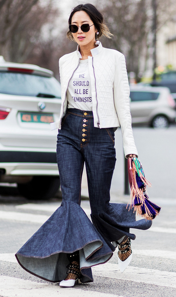The Denim Fashion Trend That Is Suddenly Everywhere