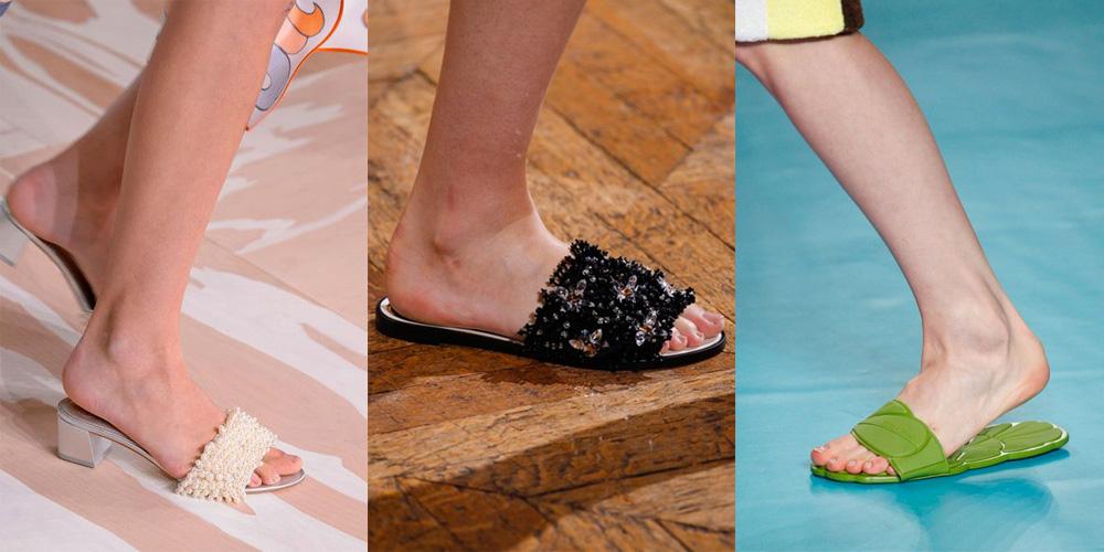 Spring/Summer Shoe Trends 2017: Sliders