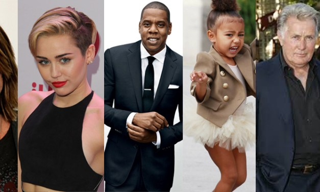 15 Famous Duos Of Stylish Fathers With Their Children