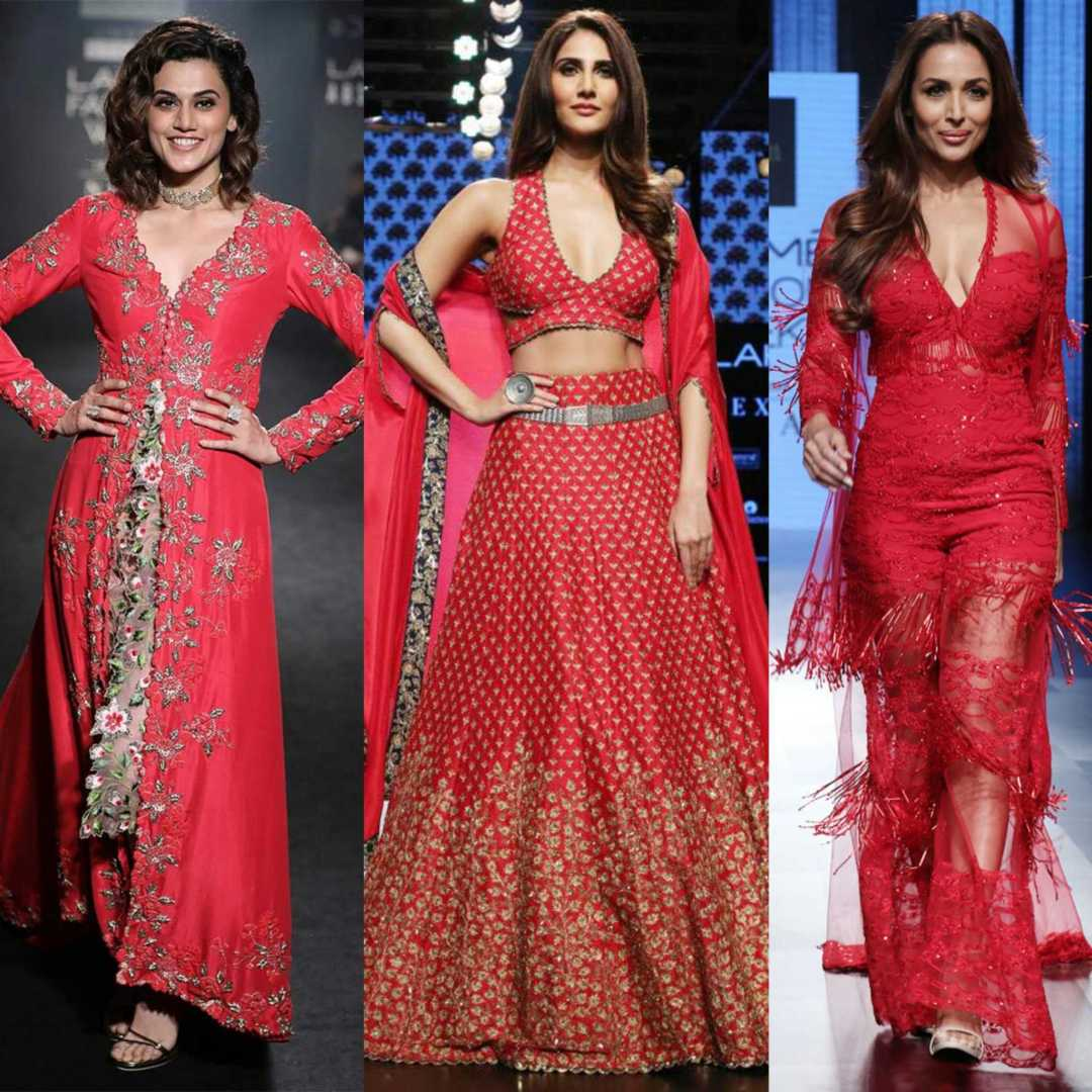 Lakme Fashion Week-RED-Colour of the season