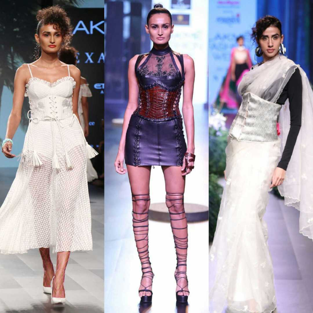 Lakme Fashion Week-Corset Mania