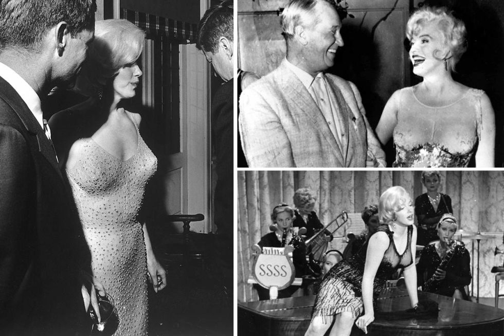 Naked Dress Trend - Marilyn Monroe