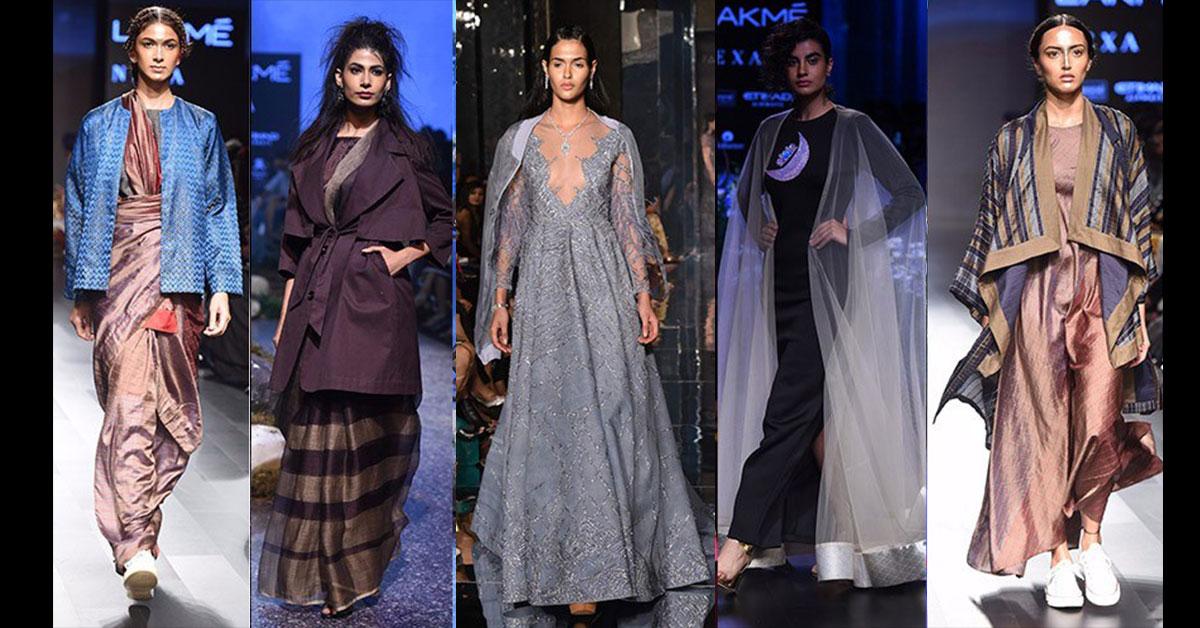 Lakme Fashion Week Winter Festive 2017 Top 5 Trends Posherry