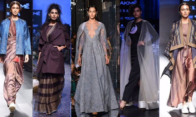 Lakme Fashion Week Winter/Festive 2017: [Top 5 Trends]