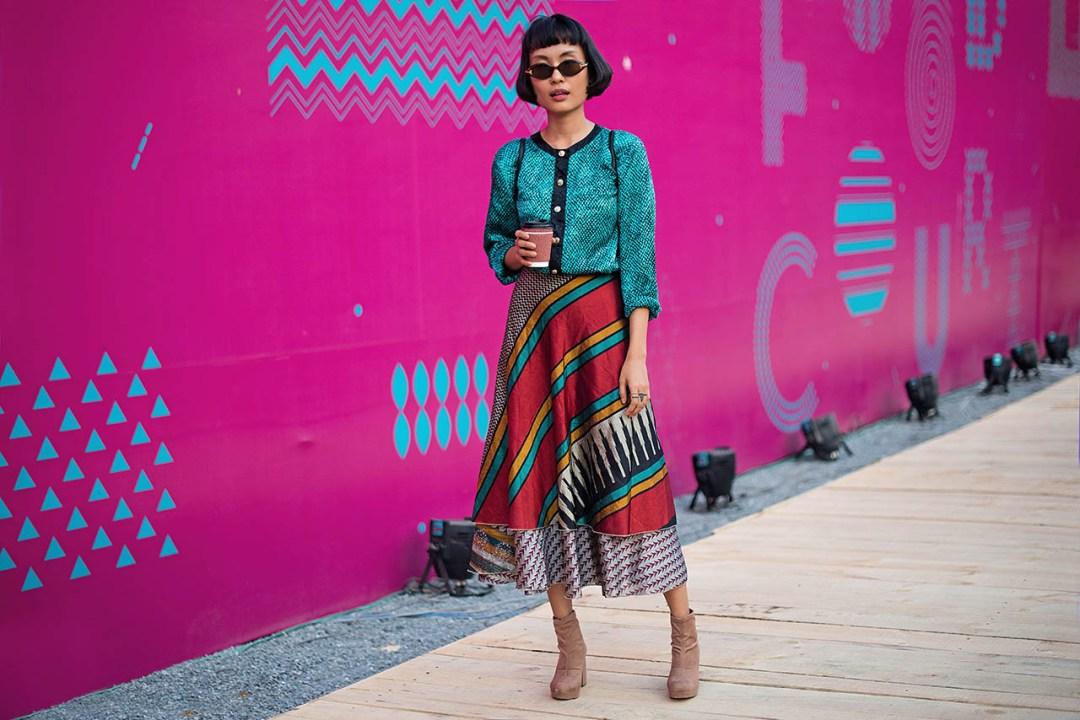 Street Fashion AIFWSS18 - Carol Humtsoe
