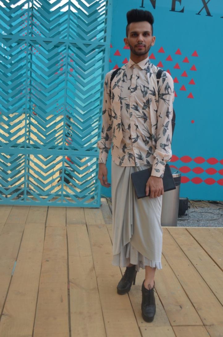 Street Fashion AIFWSS18 - Eshan Hilal