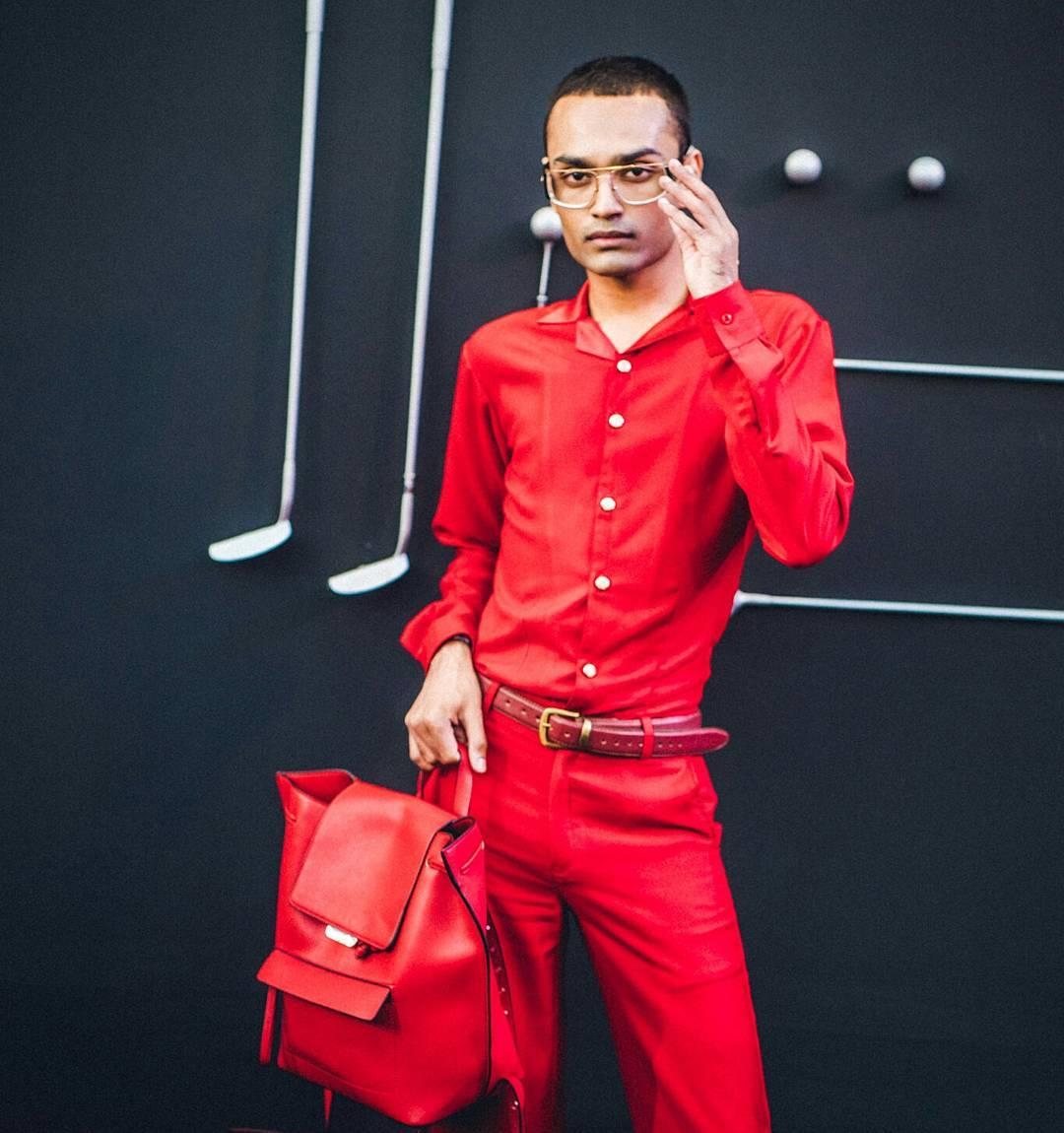 Street Fashion AIFWSS18 - Anurag Gupta