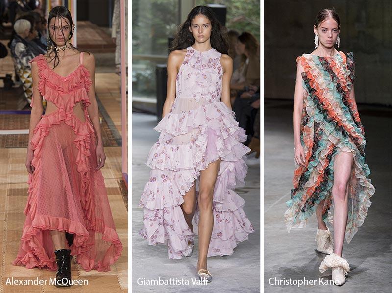 Spring/Summer Fashion Trends 2018 - Ruffles
