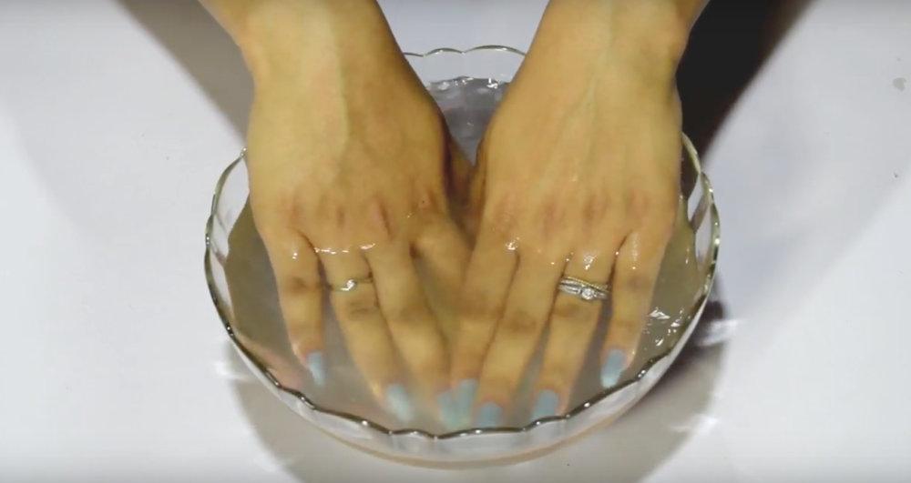Mini Manicure | uses of vitamin e capsules