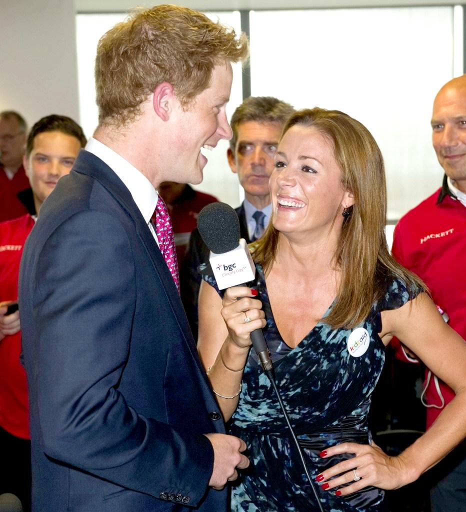 Prince Harry's girlfriend : Natalie Pinkham