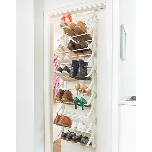 over door shoe rack large