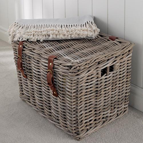fisherman s wicker basket large