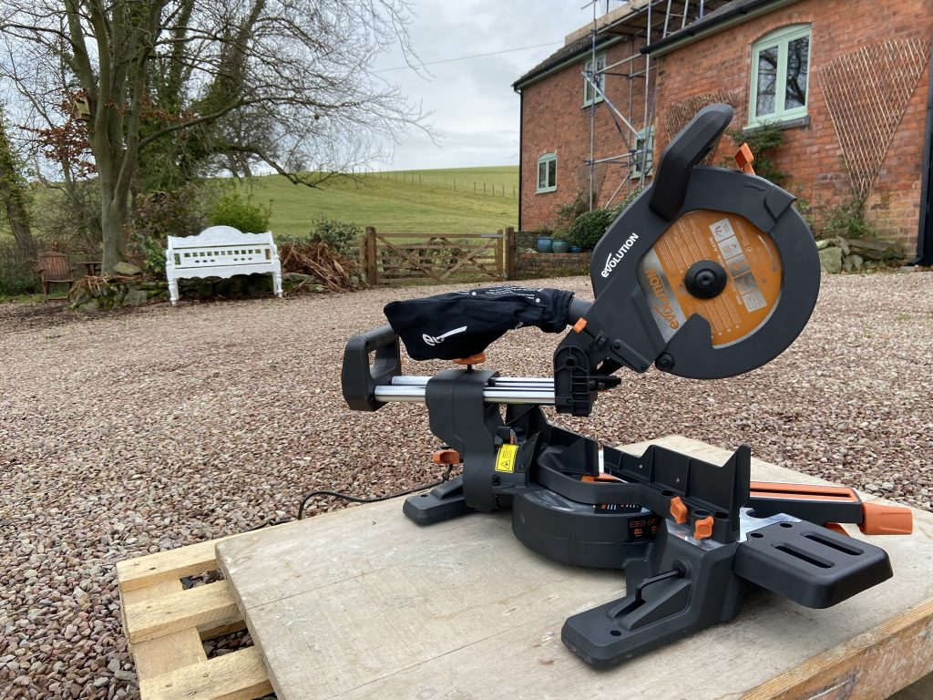 Evolution R255 mitre saw
