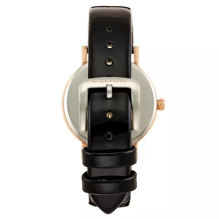 Kate Spade Metro Ladies Rose Gold Tone Strap Watch