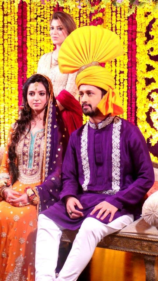 Atif Aslams Wedding Photos