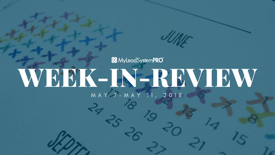 MLSP Week-in-Review: May 7, 2018