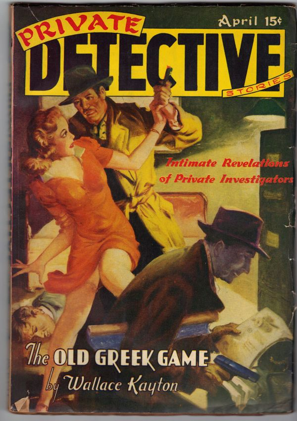 PRIVATE DETECTIVE Stories by Various - Paperback ...