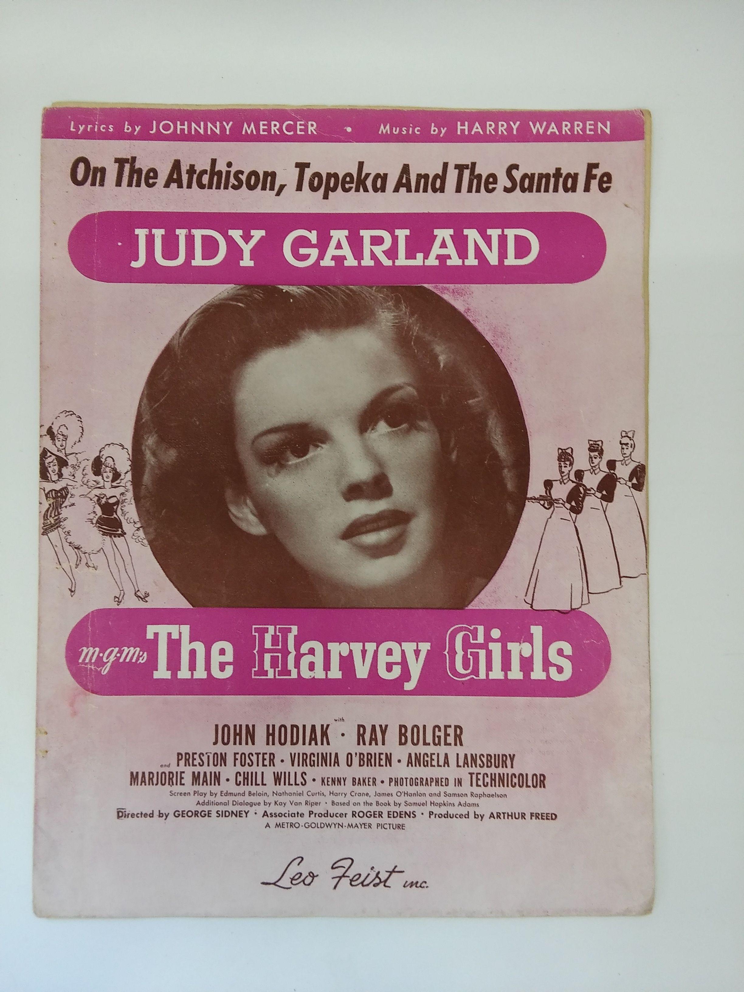 Over The Rainbow Judy Garland Wizard Of Oz Sheet Music