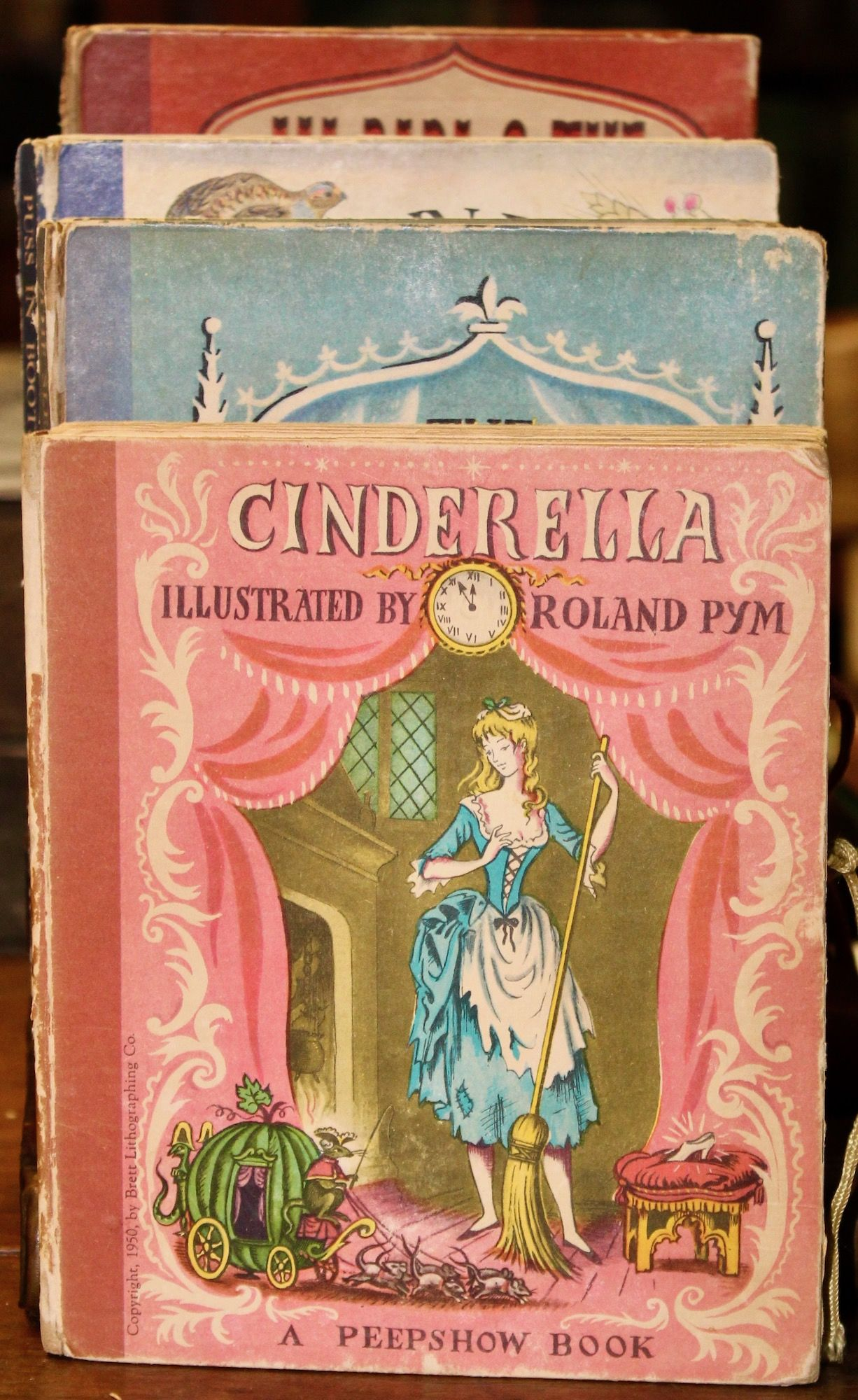 Cinderella A Peepshow Book Boston Houghton Mifflin