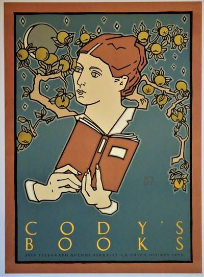 cody s books poster by david lance artist goines first printing 1983 from dale steffey books sku 007530