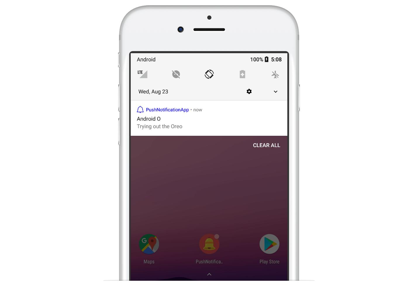 Android Oreo Push Notifications
