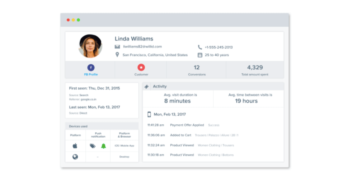 Rich-User-Profile