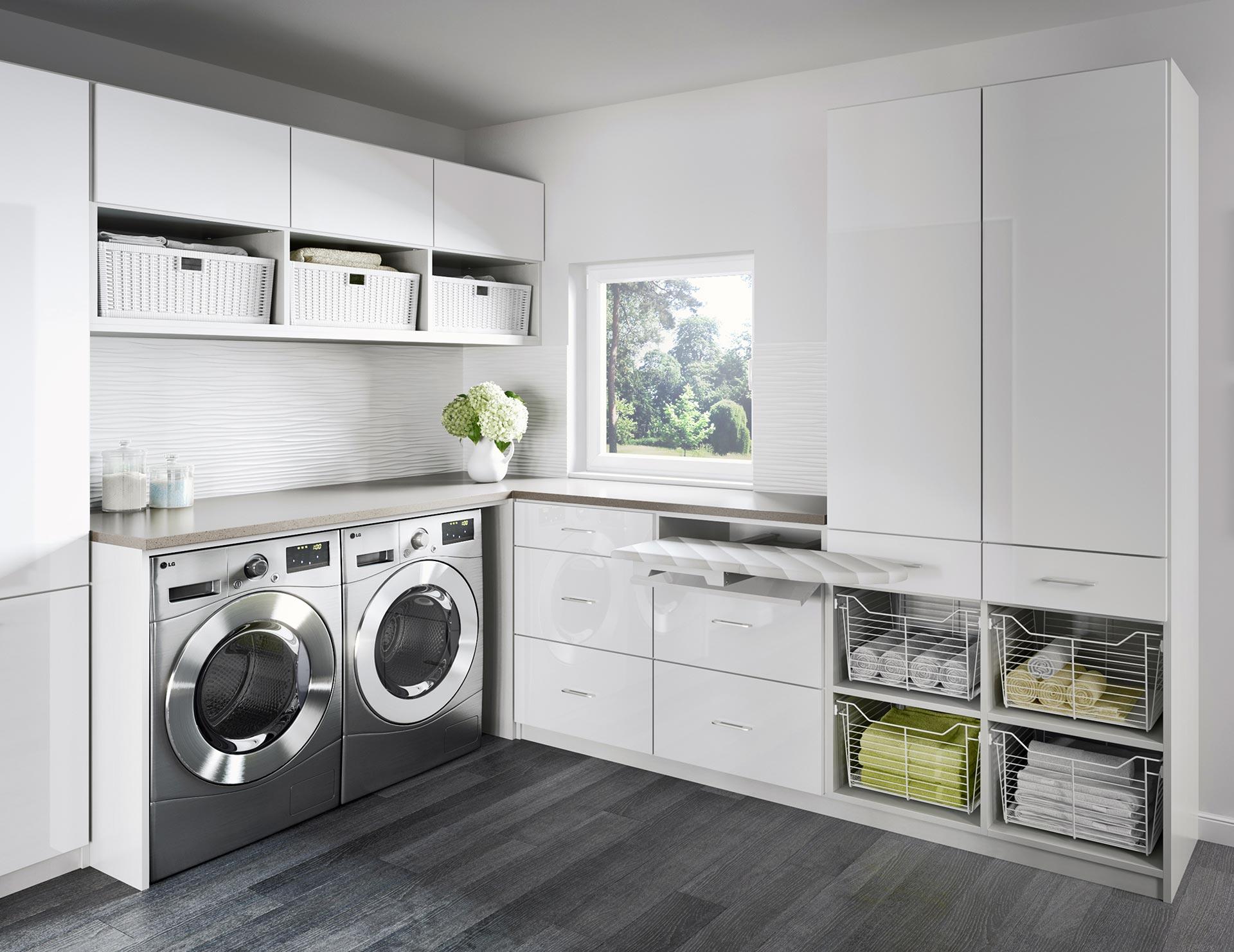 Laundry Room Cabinets & Storage Ideas | California Closets on Laundry Room Cabinet Ideas  id=31765