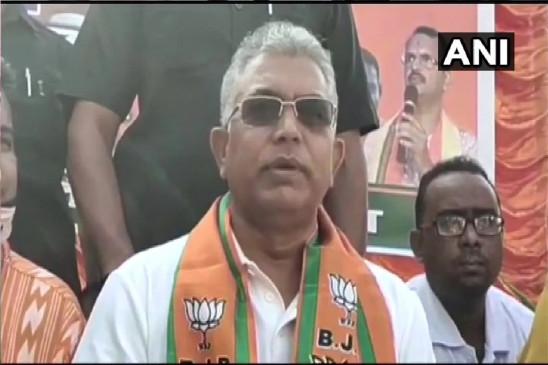 West Bengal Election: चुनाव आयोग ने बंगाल भाजपा प्रमुख दिलीप घोष के चुनाव प्रचार पर लगाई 24 घंटे की रोक