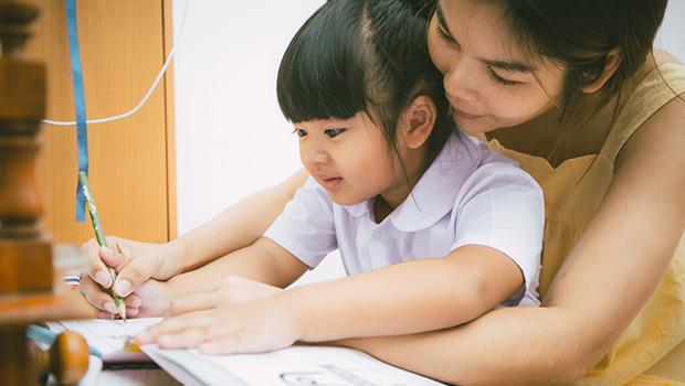 agar anak belajar nyaman di rumah