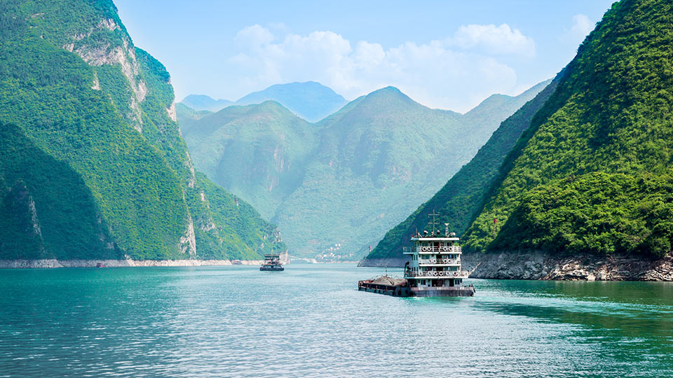 menyusuri sungai yangtze