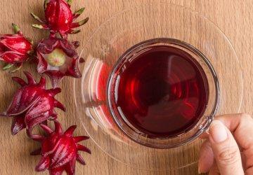 minuman herbal dari bunga