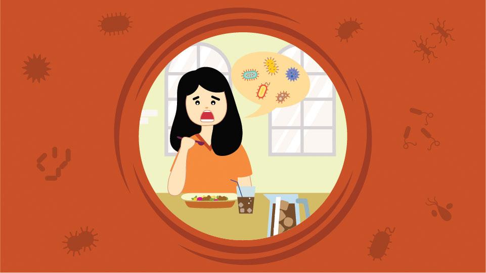 Bakteri pada Makanan