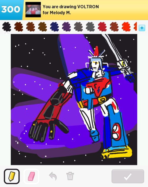 Voltron Drawings How To Draw Voltron In Draw Something
