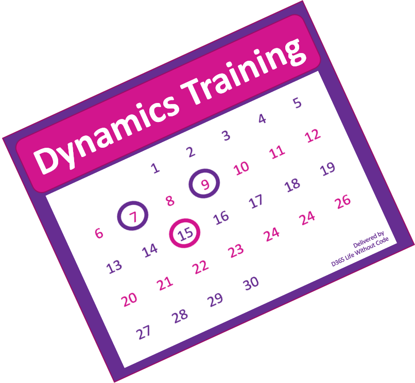 Dynamics events, training and webinars