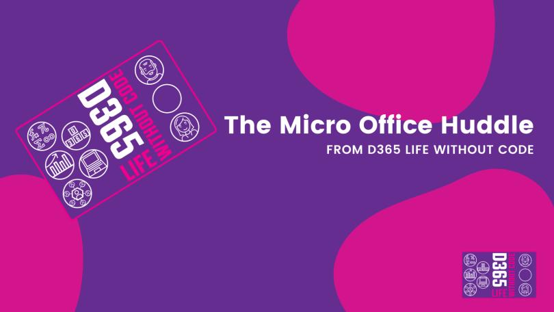 Micro Office Huddle