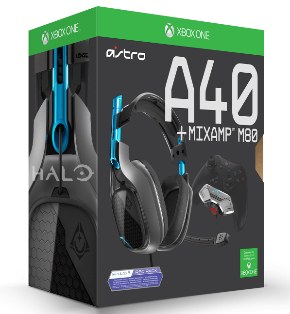Win an Astro A40 + MixAmp M80 and Halo 5 Req Packs