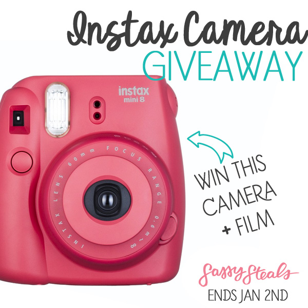 Instax Camera Giveaway
